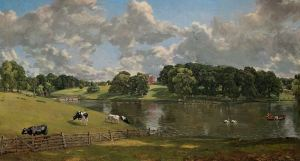 Wivenhoe Park by John Constable (National Gallery of Art, Washington DC)